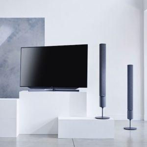 Loewe Audio Klang 5 met Loewe Bild 7 TV