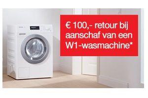 Miele WKE 130 WPS 100 euro korting