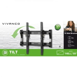 Vivanco tilt wall bracket up to 55 inch