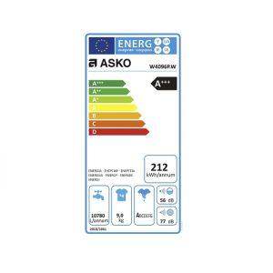 Energielabel ASKO W4096PW