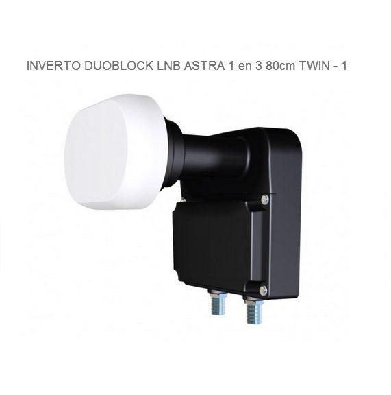 Inverto DUO block LNB 80 CM
