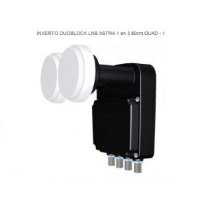 Inverto QUAD DUO block LNB 80 CM